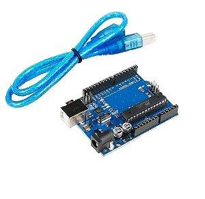 Placa Uno R3 + Cabo USB