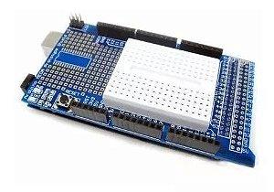 Protoshield Para Arduino Mega + Mini Protoboard