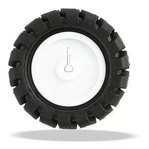 Roda Com Pneu De Borracha 42MM Para Motor N20