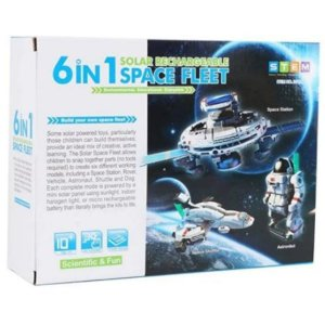 KIT EXPERIMENTOS SOLAR 6 EM 1 SPACE FLEET
