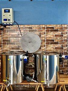 Cozinha Cervejeira 130 litros Dual Bloco completa