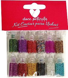 Kit Caviar Para Unhas - 12un