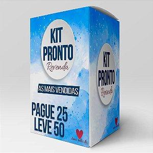 Kit Revenda 25 - Modelos Mais vendidos Pague 25 leve 50