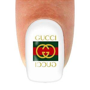 Adesivo de unha Variado Gucci 290 com 12un