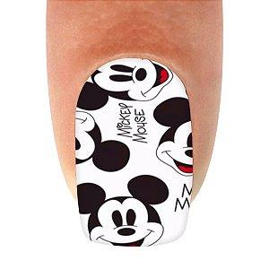 Adesivo de Unha Mickey Mouse