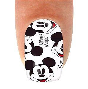 Adesivo de Unha Jóia Luxo Mickey