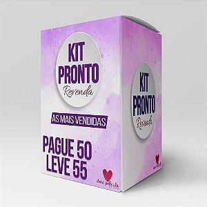 Kit Revenda 50 - Modelos Mais vendidos- Pague 50 leve 55