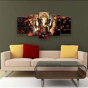 Quadro Decorativo Lord Ganesha 129x61cm Sala Quarto