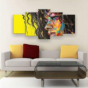 Quadro Decorativo Morena 129x61cm Sala Quarto