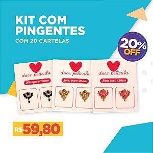 Kit Pingente com 20 unidades