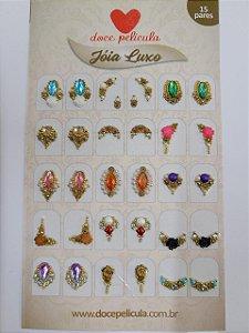 Cartela Jóia Luxo 010 - 30un
