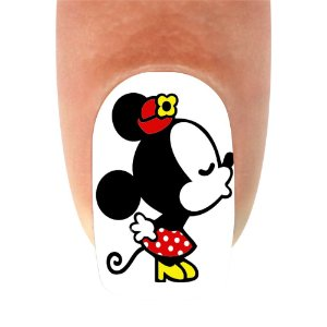 Adesivo de Unha Mickey 02 - 12un