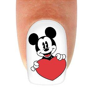 Adesivo de Unha Mickey 05- 12un