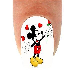 Adesivo de Unha Mickey 06- 12un