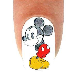 Adesivo de Unha Mickey 12- 12un
