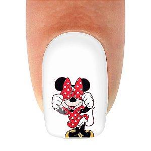 Adesivo de Unha Mickey 16- 12un