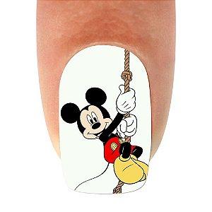 Adesivo de Unha Mickey 18- 12un