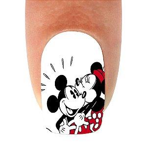 Adesivo de Unha Mickey 19- 12un