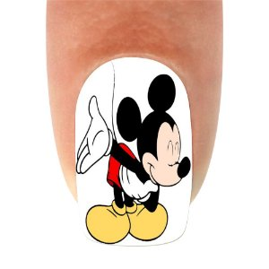Adesivo de Unha Mickey 21- 12un