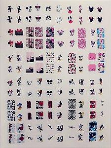Cartelão de Peliculas de Unhas Tradicionais Mickey- 120un
