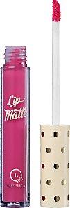 Latika Lip Matte Rosa Nº 4 - Batom Líquido 4ml