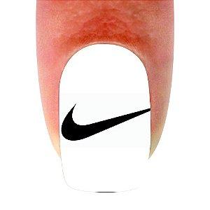 Adesivo de Unha Variado Nike 259 com 12un