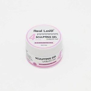 Gel De Moldagem Para Unhas Real Love - Pink