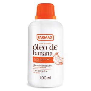 Óleo de Banana Farmax 100ml