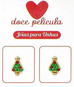 Par de Pingente Natal Árvore 05