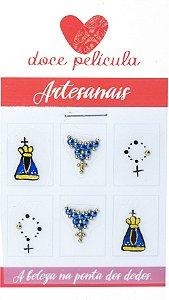 Adesivo de Unha Artesanal 170 - 6un