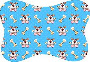 Tapete Decorativo Osso Pet Cachorrinho e Osso