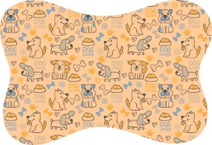 Tapete Decorativo Osso Pet  Dog Lover