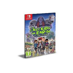The Last Kids on Earth and the Staff of Doom NINTENDO SWITCH Mídia Digital