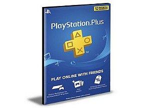 PSN PLUS PLAYSTATION USER PS4 E PS5 2 MÍDIA DIGITAL