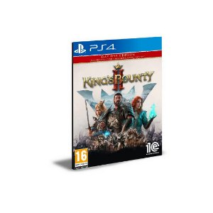 King's Bounty II Day One Edition Ps4 e Ps5 Psn Mídia Digital