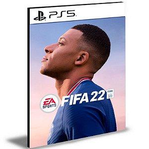 FIFA 22 Português Ps5 Psn Mídia Digital - PRÉ-VENDA