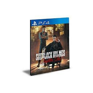 Sherlock Holmes Chapter One PS4 PSN Mídia Digital