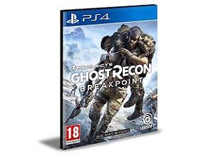Tom Clancys Ghost Recon Breakpoint Português Ps4 e Ps5 Digital