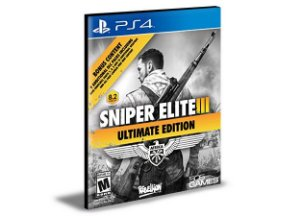 Sniper Elite 3 Ultimate Edition Ps4 e Ps5  Português  Mídia Digital