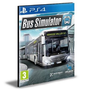 Bus Simulator Ps4 e Ps5 Psn Mídia Digital