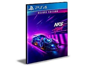 Need For Speed Heat Deluxe Português PS4 e PS5 PSN MÍDIA DIGITAL