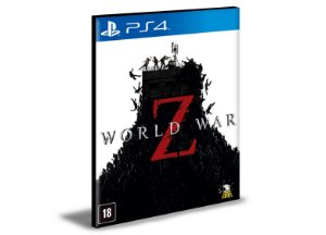 World War Z Guerra Mundial Z Ps4  Psn  Mídia Digital