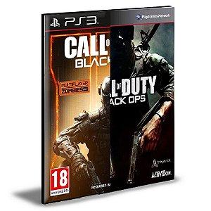 CALL OF DUTY BLACK OPS 3 + BLACK OPS 1 | PS3 | PSN | MÍDIA DIGITAL
