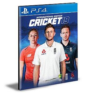 Cricket 19 Ps4 Psn Mídia Digital