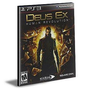 DEUS EX HUMAN REVOLUTION|PS3|PSN|MÍDIA DIGITAL