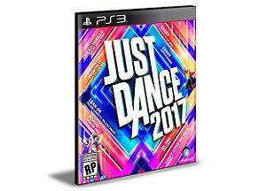 JUST DANCE 2017 PS3 PSN MÍDIA DIGITAL