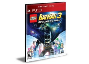 LEGO BATMAN 3 BEYOND GOTHAM PORTUGUÊS PS3 PSN MÍDIA DIGITAL