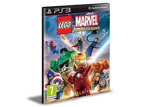 LEGO MARVEL SUPER HEROES PS3 PSN MÍDIA DIGITAL