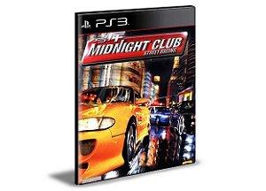 Midnight Club ( Ps2 Classic ) Ps3 Psn Mídia Digital