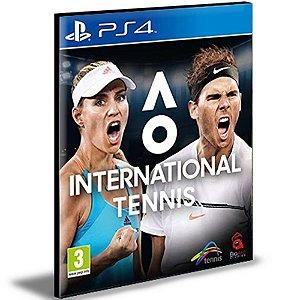 AO International Tennis Ps4 e Ps5 Psn|Mídia Digital